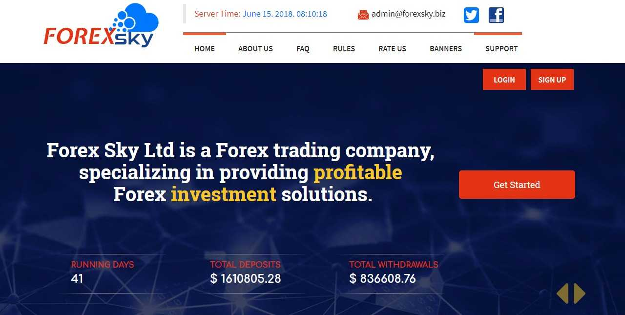 Forex sky review