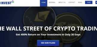 Cryptoinvest.is Hyip Review : Earn Money From Crypto Trading