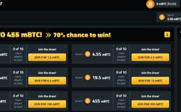 Bitcoinbetgame.com Game Review : The Best BTCmultiplier Lottery