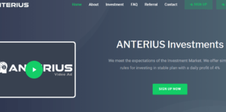 Anterius.net Hyip Review : Scam Or Paying? Read Our Full Review