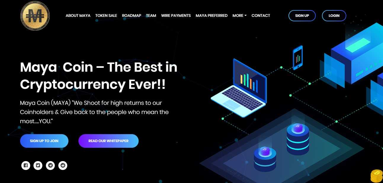 maya coin cryptocurrency how to invest