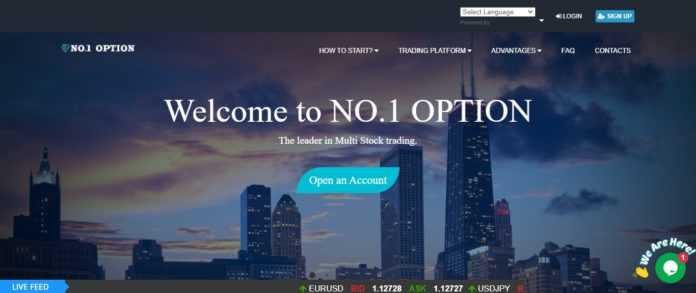 No1option Forex Review - Experience Mobile Stock Trading with NO.1 OPTION