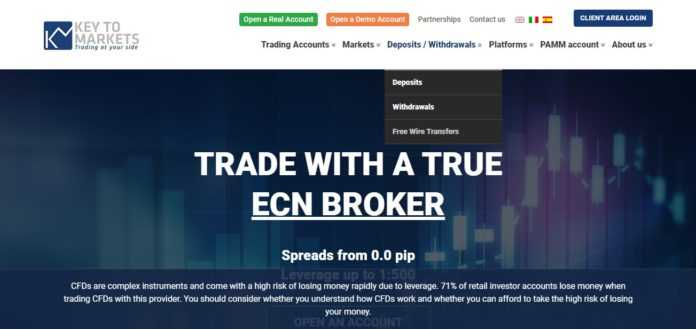 Keyto Markets Forex Review - MT4 Accounts Tailored For You