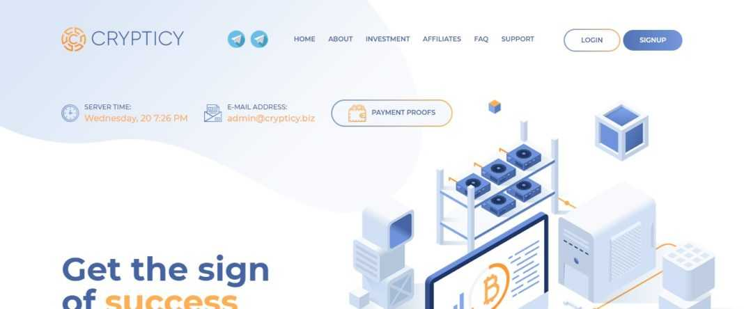 Crypticy Ltd Hyip Review - A Global Investment Community