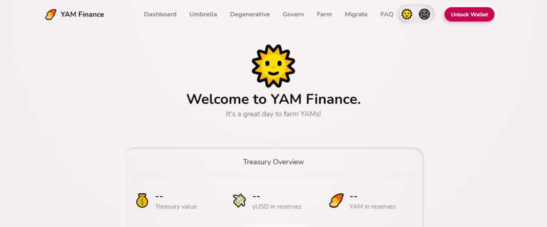 YAM v1 Defi Coin Review - It's a great day to farm YAMs!