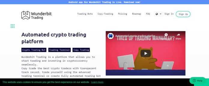 Wunderbit Trading Bot Platform Review - Automated Crypto Trading Platform