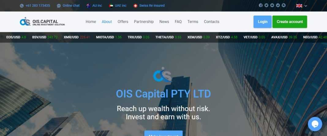 Ois.capital Review: Scam Or Paying? Read Our Full Review