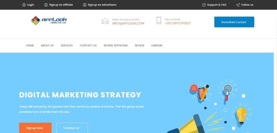 Afflook.com Affiliate Network Review : Digital Marketing Stagirites