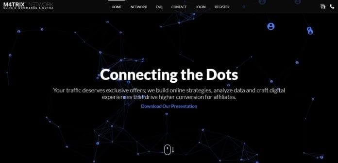 M4trix.network Affiliate Network Review : Get Minimum Payout $1000
