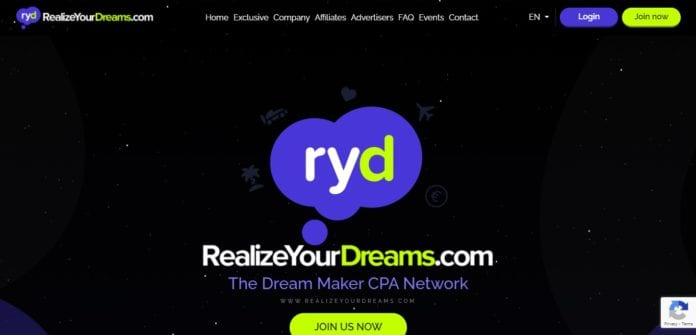 Realizeyourdreams.com Affiliate Network Review: Join RYD and Access Many Exclusive Offers