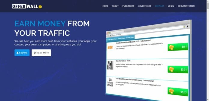 Offerwallads.com Affiliate Network Review: Earn Money From Your Traffic