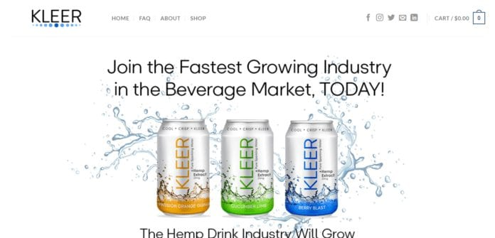 Kleercbdwater.com Affiliate Program Review : 17% Commission Per Sale, Plus 10% Commission on all Recurring Subscription Orders