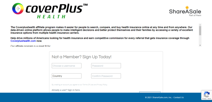 Coverplus Health Affiliate Program Review : 25% Commission on Each Sale
