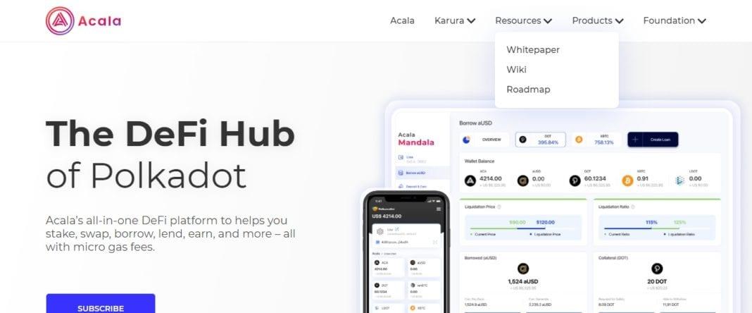 Acala.network Defi Coin Review: The DeFi Hub of Polkadot