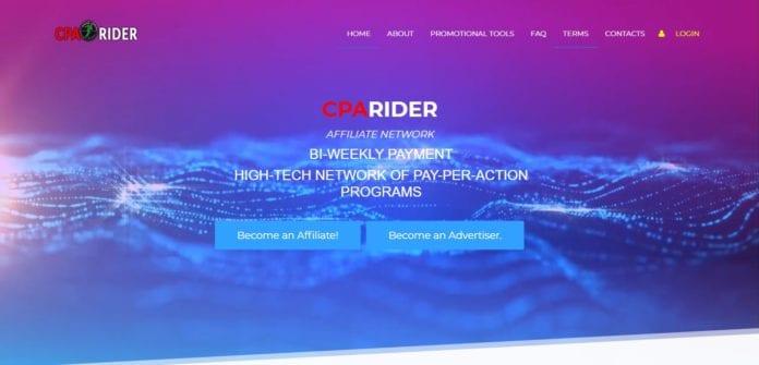 Cparider.com Affiliate Network Review : Best Tracking Software