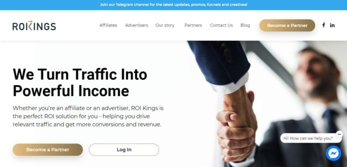 Roikings.club Affiliate Network Review : Turn Traffic Into Powerful Income