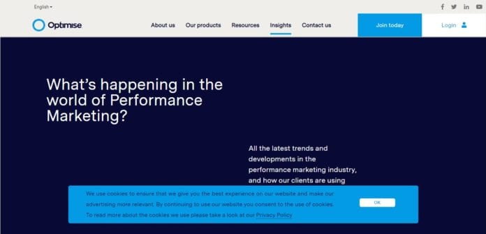 Optimisemedia.com Affiliate Network Review : Turn More Clicks into Customers with Optimise Performance Marketing