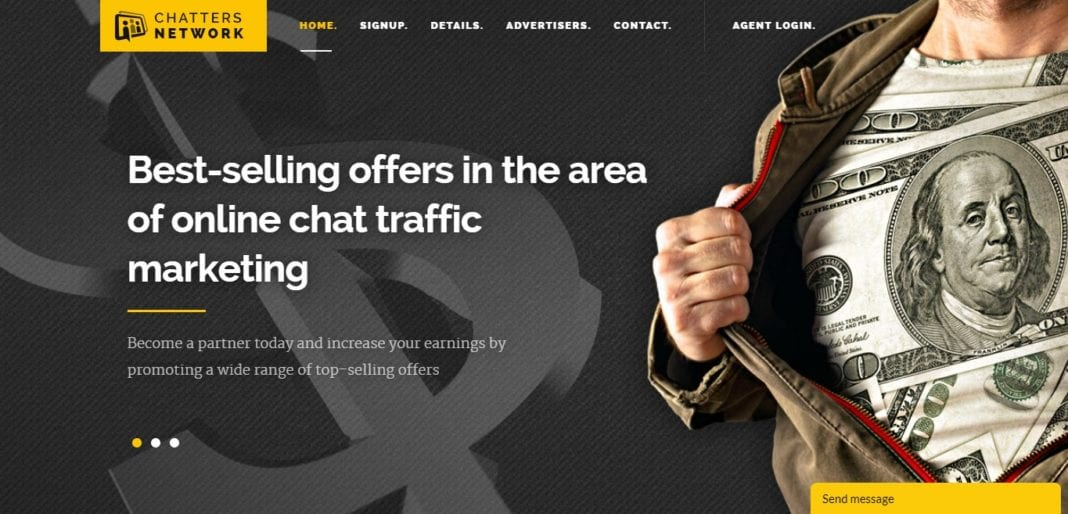 Chattersnetwork.com Affiliate Network Review: Grow your Business With Chat Traffic