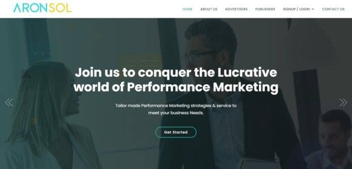 Aronsol.com Affiliate Network Review : Lucrative World of Performance Marketing
