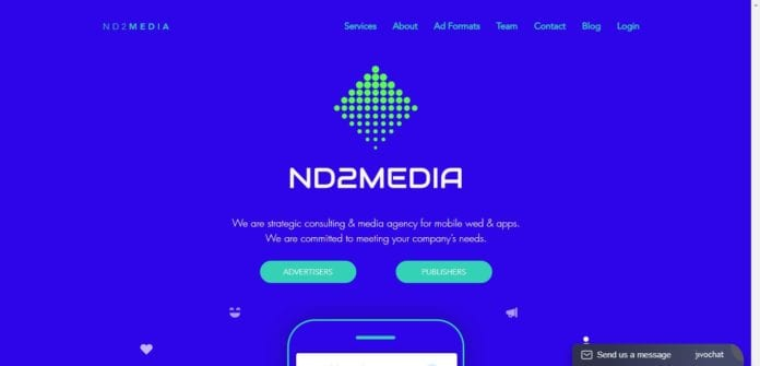 Nd2media.com Affiliate Network Review: Strategic Consulting & Media Agency for Mobile Wed & Apps
