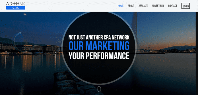 Cpa.adthink.com Affiliate Network Review : Marketing Your Performance