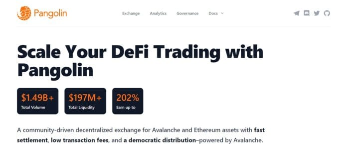 Pangolin Exchange Review: Scale Your DeFi Trading with Pangolin