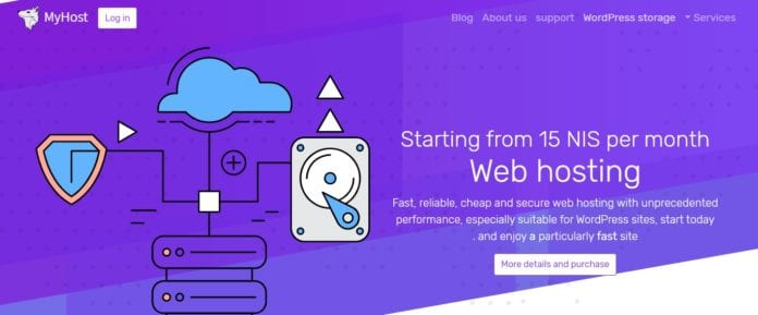 Myhost Web Hosting Review: Starting from 15 NIS per Month