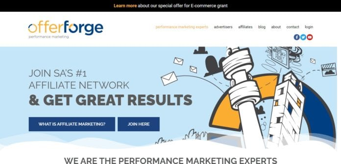 Offerforge.com Affiliate Network Review : The Performance Marketing Experts