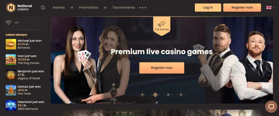 Natio Casino Review: 100% Up to 100 EUR On Your First Deposit
